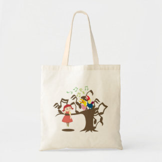 Cherie Sing A Song Tote Bags