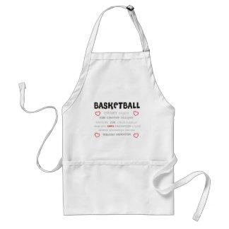 cherish-basketball. delantales