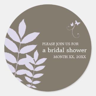 Cherish-Bridal Shower Sticker
