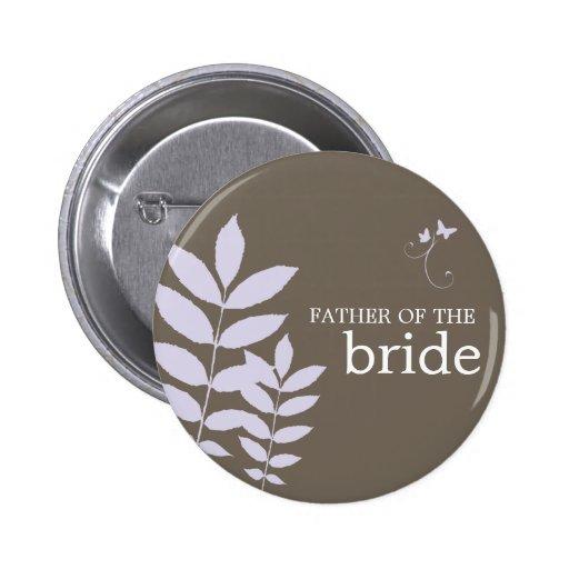Cherish-Father of the Bride Button