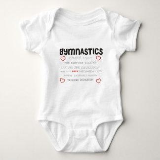 Cherish Gymnastics Baby Bodysuit