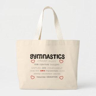 Cherish Gymnastics Canvas Bag