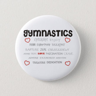 Cherish Gymnastics Button