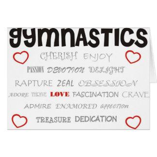 Cherish Gymnastics Card