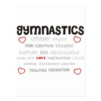 Cherish Gymnastics Postcard
