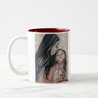 Cherish Mermaid and Child Mug