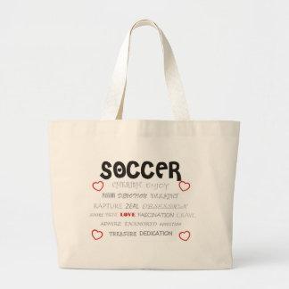 Cherish Soccer Canvas Bag
