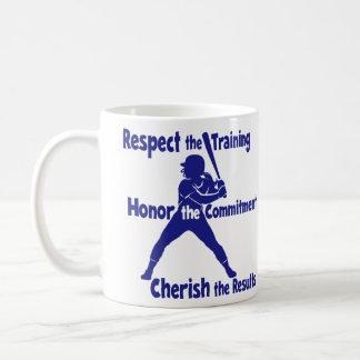 CHERISH SOFTBALL COFFEE MUG
