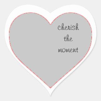 Cherish the Moment-Heart Stickers