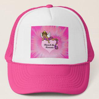 Cherish The Moments Ethnic Angel Trucker Hat