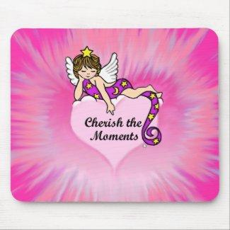 Cherish The Moments Mouse Pad