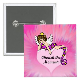 Cherish The Moments Pins