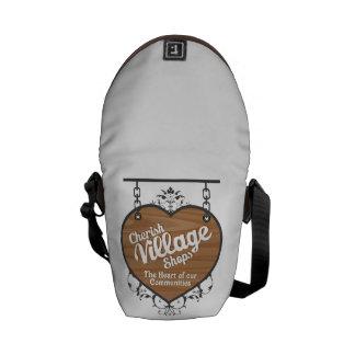 Cherish Village Shops Messenger Bag