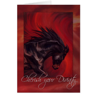 Cherish your Divinity Greeting Card