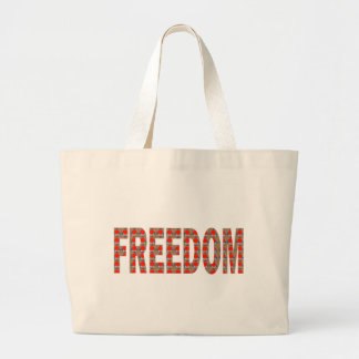 Cherish your FREEDOM Blessing n RESPONSIBILITY Tote Bag