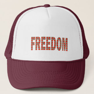 Cherish your FREEDOM: Blessing n RESPONSIBILITY Trucker Hat