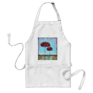 Cherished Chef Apron From Original Painting apron