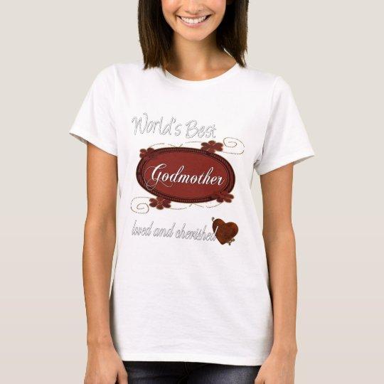 Cherished Godmother T-Shirt