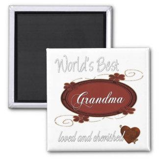 Cherished Grandma Fridge Magnets