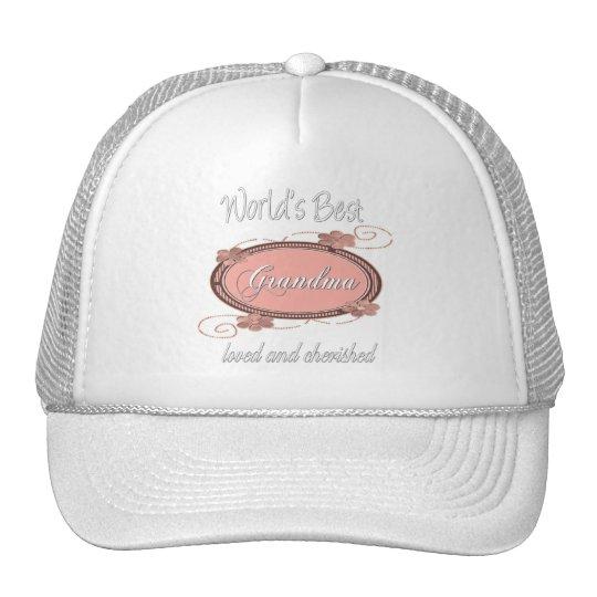 Cherished Grandma Series Trucker Hat