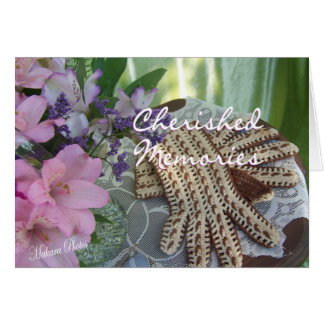 Cherished Memories-customize Card