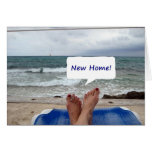 """CHERISHED MEMORIES IN YOUR """"NEW HOME"""" CARD"""