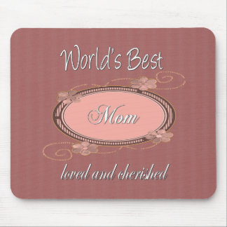 Cherished Mom Mouse Pad