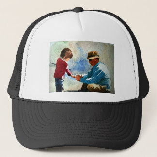 cherished moment trucker hat