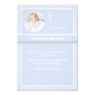"Cherished Personalized Photo Thank You Card 3.5"" X 5"" Invitation Card"