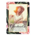 "Cherished / Photo Graduation Party Invitation 5"" X 7"" Invitation Card"