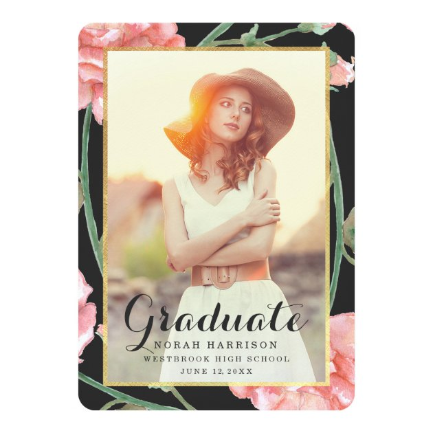 Cherished / Photo Graduation Party Invitation