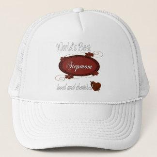 Cherished Stepmom Trucker Hat