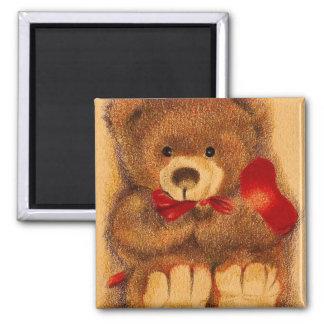 Cherished Teddy Bear Magnet