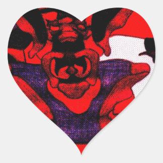 Cherloft the Enforcer Pitbull Puppy Sticker