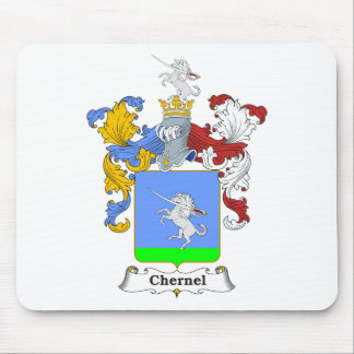 Chernel Family Hungarian Coat of Arms Mouse Pad