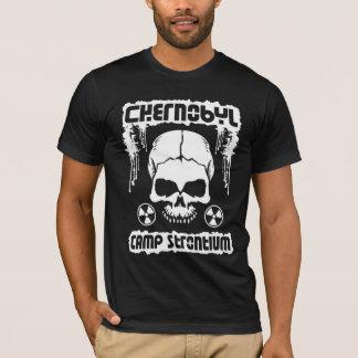 """Chernobyl """"Camp Strontium"""" Radiation Skull T-Shirt"""