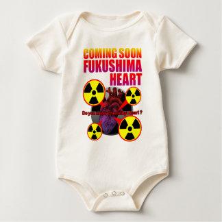 Chernobyl Heart2 Baby Bodysuit