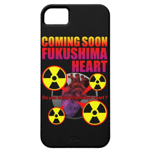 Chernobyl Heart2 iPhone 5 Cover