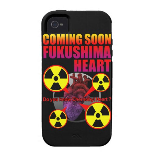 Chernobyl Heart2 iPhone 4/4S Cover