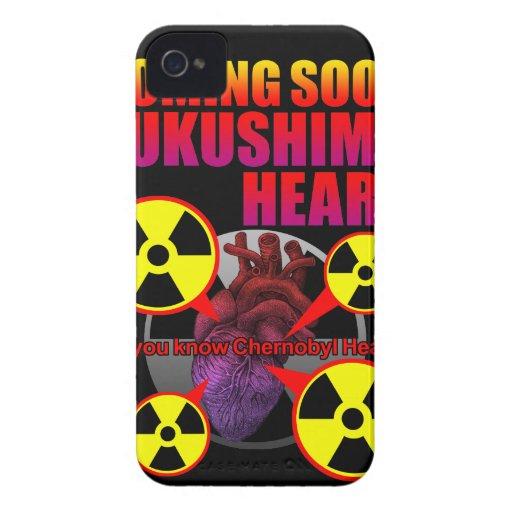 Chernobyl Heart2 iPhone 4 Case