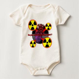 Chernobyl Heart Baby Bodysuit