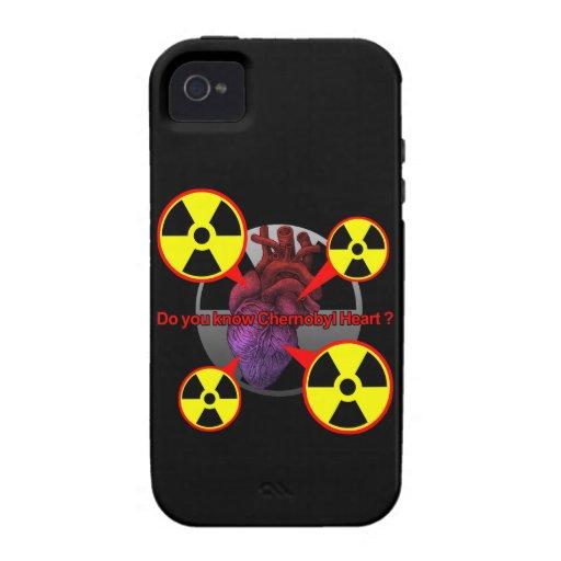 Chernobyl Heart iPhone 4/4S Case