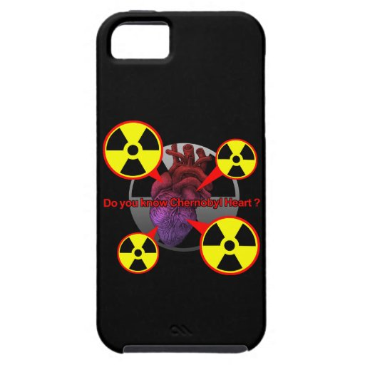 Chernobyl Heart iPhone 5 Cover