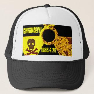 Chernobyl memorial anti nuclear trucker hat