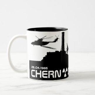 Chernobyl Mug/cup Two-Tone Coffee Mug
