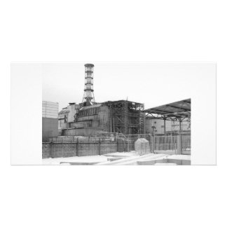 Chernobyl Nuclear Reactor Picture Card
