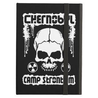 Chernobyl Strontium Radiation Skull iPad Air Cases