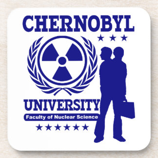 Chernobyl University Nuclear Science Drink Coasters