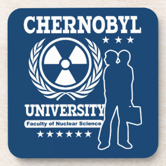 Chernobyl University Nuclear Science Beverage Coaster