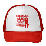 Chernobyl University Nuclear Science Geek Humor Trucker Hat